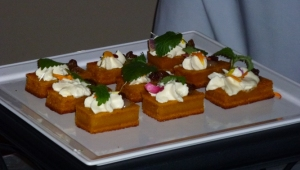 Carrot Cake w/ White Chocolate & Mascarpone Mousse