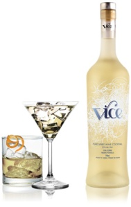 Vice Vodka Ice Wine Martini