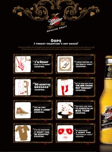 I Forgot Valentine's Day Again-Miller Genuine Draft