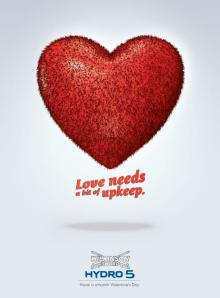 Love Needs a bit of UpKeep-Wilkinson Sword