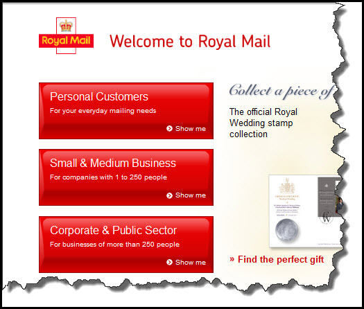Royal Mail CTA audience-segmentation