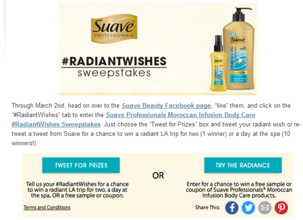 Suave_sweepstakes_t_and_c