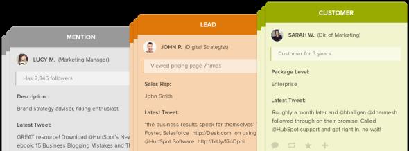 hubspot social inbox