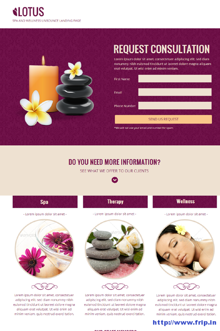 Lotus-Spa-Wellness-Page-Template-