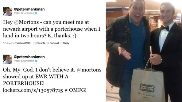 peter shankman mortons