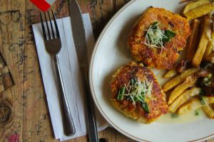 Jackfish Cakes and Fries Featured in Moosemeat and Marmalade Season 3